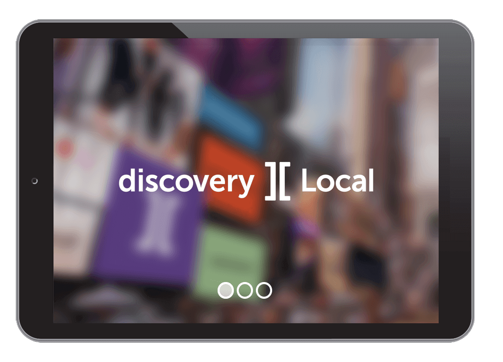 discovery ][ Local on tablet