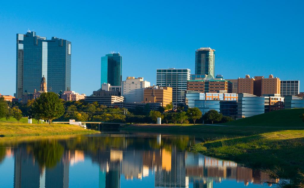Fort Worth, TX skyline
