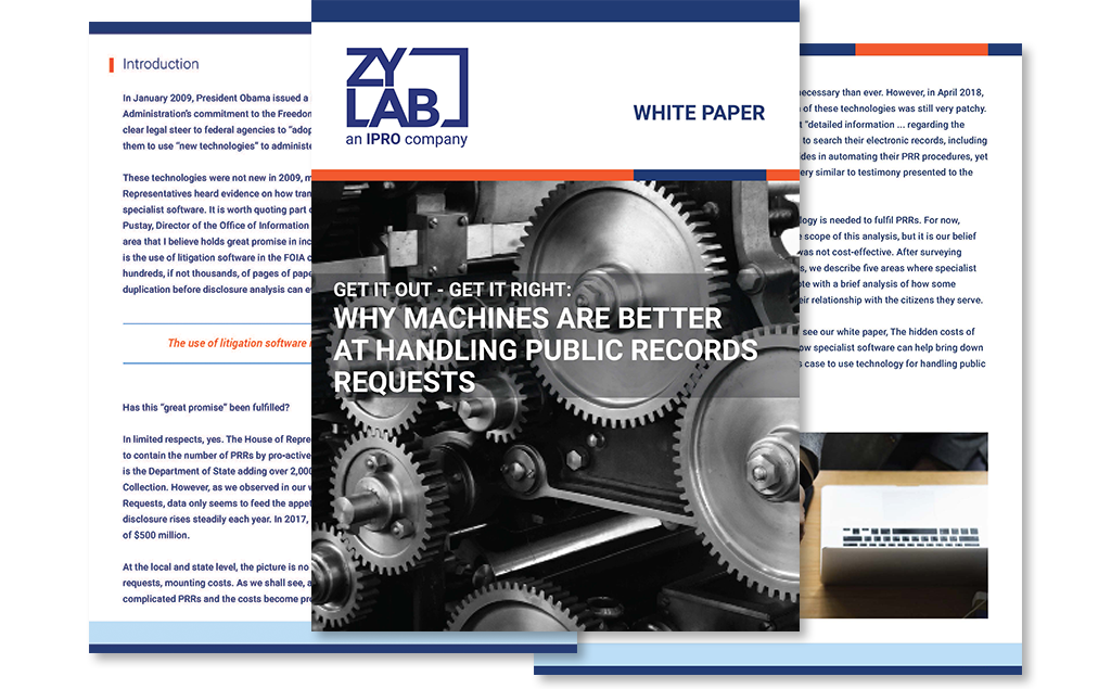 Why Machines are Better at Handling Public Records Requests white paper preview